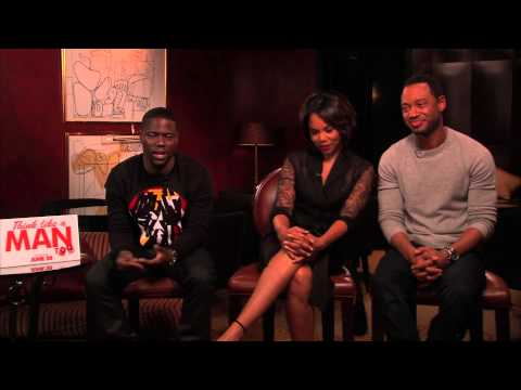 Think Like A Man Too Interview Kevin Hart Regina Hall & Terrence Jenkins