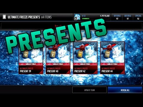 Opening My Final Presents Of The Year INSANE Pulls Madden Mobile 17