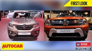 Renault Kwid & Duster | First Look | Autocar India | Presented By Kotak Mahindra Prime