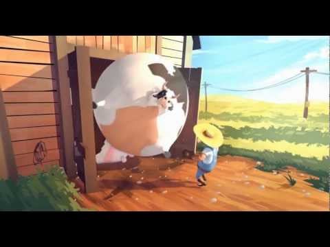 Fat - farm animals get fat- the animation HD