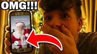 SANTA CLAUS SENT ME A VIDEO MESSAGE!!! OMG!!!