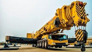 Biggest Mobile Crane in the world