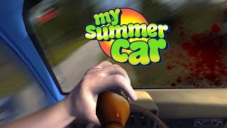 dont drink and drive  my summer car gameplay part 2