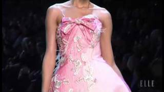 Christian Dior. Paris Alta Costura primavera verano 2011