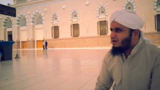 SHEHANSHAH HABEEBA MADINAY Diya, Muhammad Asad Yousafi recite Naat Infront of MASJID E NABWI