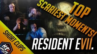 Resident evil 7 all jumpscares compilation | top scariest moments | reaction