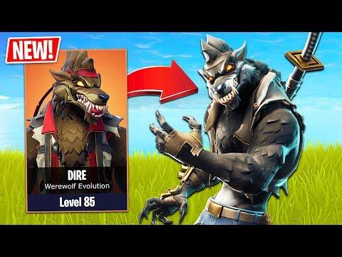 Xxx Mp4 Fortnite NEW Werewolf Skin Evolution Fortnite Season 6 Gameplay New Map Skins Amp Pets 3gp Sex