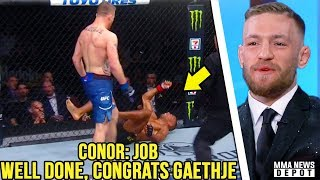 UFC Pros react to Edson Barboza vs Justin Gaethje; Gaethje wants Khabib; Conor reacts to Gaethje