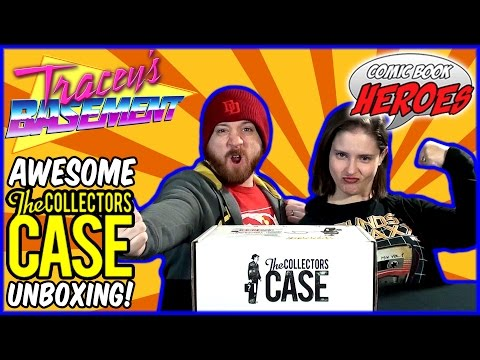 The Collectors Case Unboxing (February 2017) - Comic Book Heroes - BEST BOX YET!