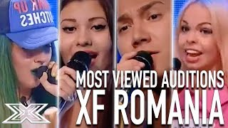 TOP 10 MOST VIEWED AUDITIONS The X Factor Romania | X Factor Global