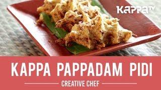 Kappa Pappadam Pidi - Creative Chef - Kappa TV