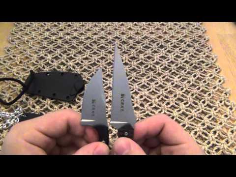 Knife Comparison : (CRKT) Minimalist Vs. (CRKT) S.P.E.W.