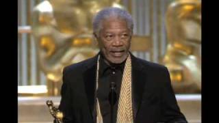 Morgan Freeman Wins Supporting Actor: 2005 Oscars