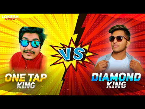 Diamond King Vs One Tap King Road To 8 Million Challenge Clash Squad 1 Vs 1 Garena Free Fire