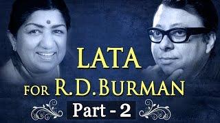 Lata Mangeshkar for R.D Burman Jukebox 2 - Lata & R.D.Burman Songs (HD) - Evergreen Old Songs
