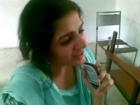 Pakistani girl in class room