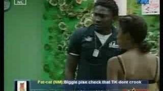 Big Brother Africa 3: Mimi and Uti quarrel
