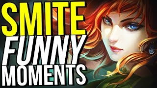 CHINESE VERSION OF SMITE IS BROKEN! - SMITE FUNNY MOMENTS