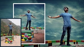 Photoshop Tutorial | Photo Manipulation Change Background
