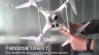 大疆精灵4 Pro「机器视觉」暴力测试  Review of DJI Phantom 4 Pro: vision performance with 7 camera sensors