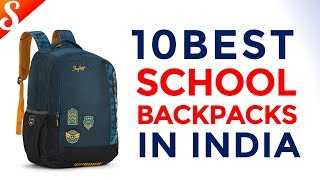 10 Best School Backpacks in India with Price