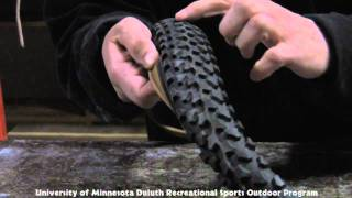 How to Stud Your Mountain Bike Tire for Ice and Snow