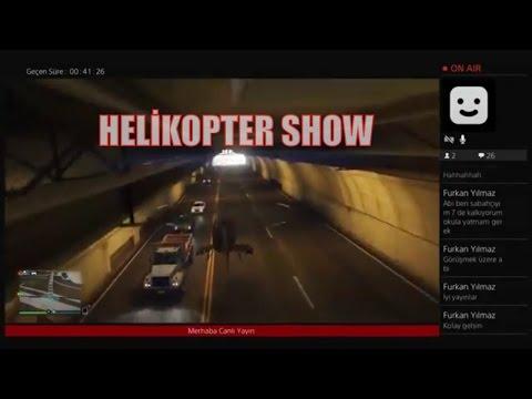 Grand  Theft Auto 5 En Uzun Tünelden Helikopter le Geçmek