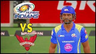 MI VS SRH - IPL 2018 - DBC 17 - Hindi Gameplay - Hitesh KS Hindi Gaming