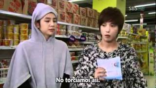 Supermercado con Mi Nam, Shin Woo, Tae Kyung & Jeremy (You're Beautiful)