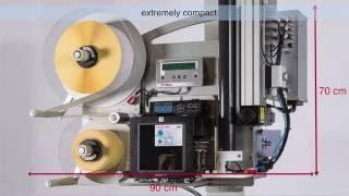 Weber Model L-A 6000 Variable-Height Label Printer Applicator