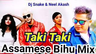 Taki Taki    Assamese Bihu Mix    Dj Snake & Kusum Koilash Rap    Neel Akash Bihuwan Mix