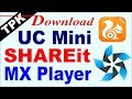 UC Mini Tpk file download | Shareit tpk etc.  on Tizen Samsung Z2, Z1, Z3, Z4