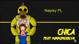 [NAPISY PL] Chica | Five Nights at Freddy's Song | GB Feat. PurpleRoselyn