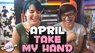 APRIL (에이프릴) - TAKE MY HAND (손을 잡아줘) ★ MV REACTION