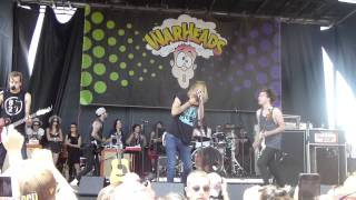 The Maine - Intro & Run - Vans Warped Tour 2014 @ Ventura, CA  06 22 14