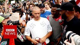 Why did a black man hug a neo-Nazi skinhead? - BBC News