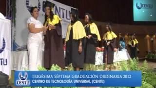 Graduación CENTU Junio 2012