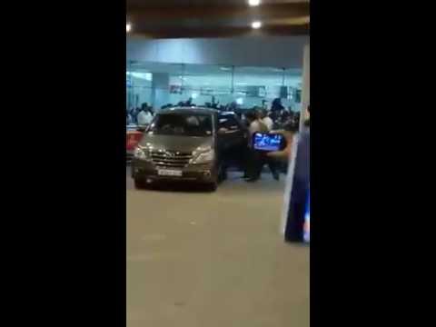 Super Star Rajinikanth's Arrival at Chennai
