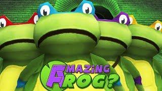 TEENAGE MUTANT NINJA...FROGS? - Amazing Frog - Part 104   Pungence