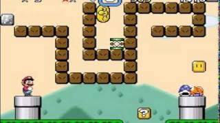 Super Mario World - Eating Block Sprite Behavior