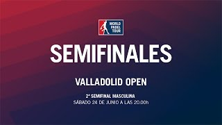 2ª Semifinal Masculina Valladolid Open 2017 | World Padel Tour