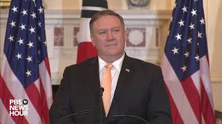 WATCH: Pompeo says U.S. will offer economic help to North Korea if it gives up nuclear weapons
