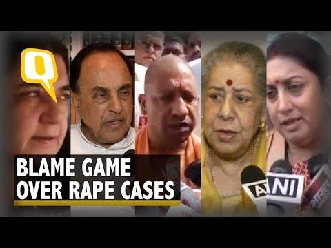 Xxx Mp4 Oppn Govt Blame Each Other For Politicising Unnao Kathua Rapes 3gp Sex