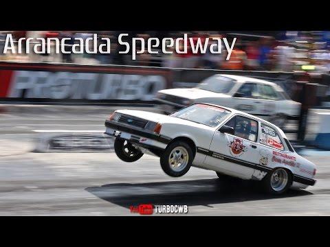 Catarinense de Arrancada 2016 no Speedway BC Burnouts e Puxadas