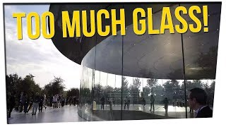Apple Headquarters Has Too Much Glass! ft. Nikki Limo & DavidSoComedy