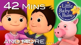 Jack Sprat | Plus Lots More Nursery Rhymes | 42 Minutes Compilation from LittleBabyBum!