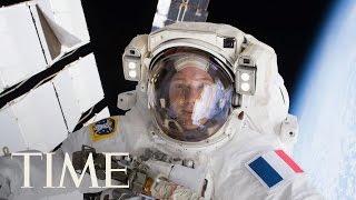 NASA International Space Station Spacewalk Livestream   TIME