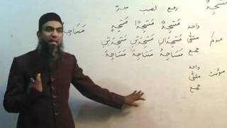 Arabic Course by Sheikh Aamir Sohail Lecture 7 (Urdu)