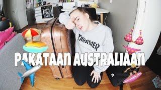 MITÄ PAKKAAN AUSTRALIAAN MUKAAN?