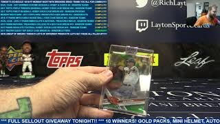 2017 Topps Clearly Authentic Baseball Single Box break for David S